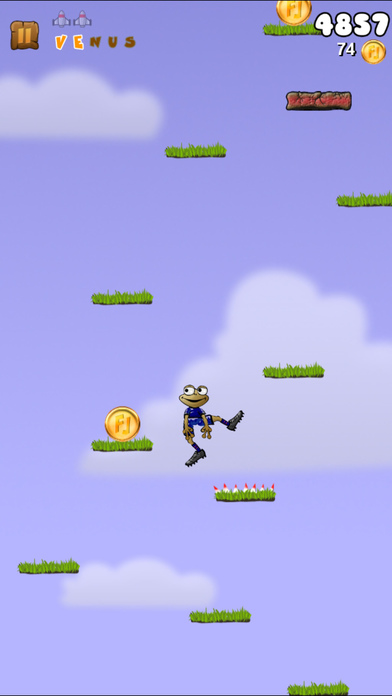 Froggy Jump iPhone Screenshot 1