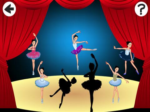 玩免費遊戲APP|下載Arabesque: Shadow Game for Children to Learn and Play with Ballerina app不用錢|硬是要APP