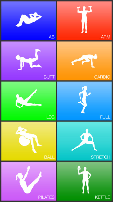 Daily Workouts Screenshots