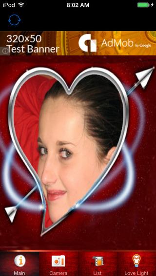 Love Romantic Frame