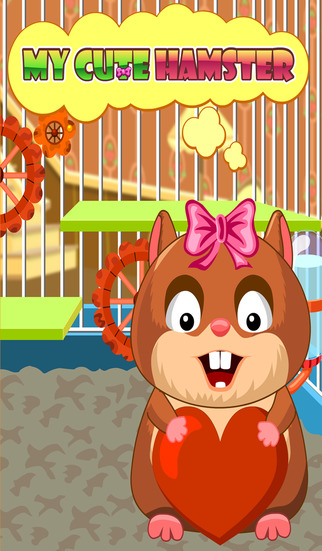 My Cute Hamster - Your own little hamster to play with and take care of