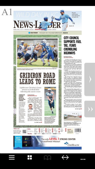 Springfield News-Leader Print Edition