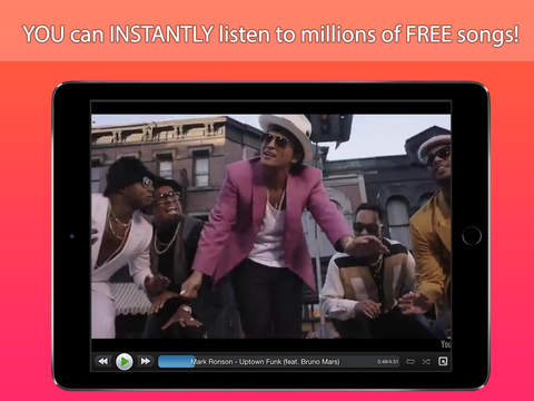StereoTube Music Player for YouTube VEVO Stream playlists of free mp3 songs videos
