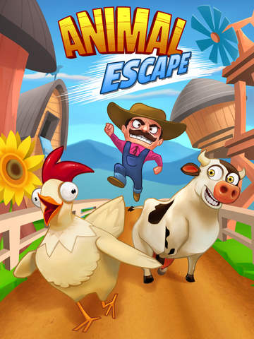 Animal Escape - Endless Arcade Runner by Fun Games For Free для iPad