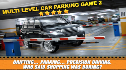 Screenshots of Multi Level 2 Car Parking Simulator Game - Real Life Driving Test Run Sim Racing Games for iPhone