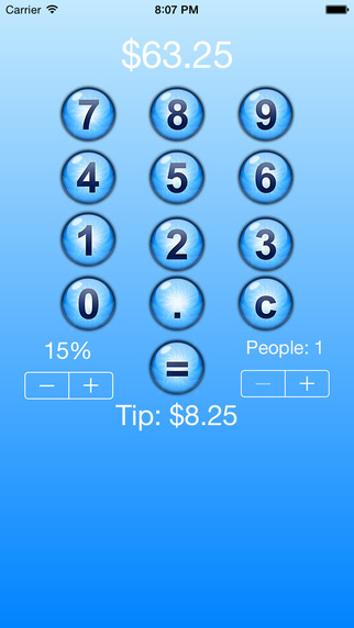 QuickTipster Tip Calculator