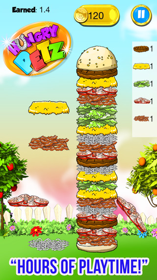 Food Stacks Maker FREE - Burger Candy Family Games