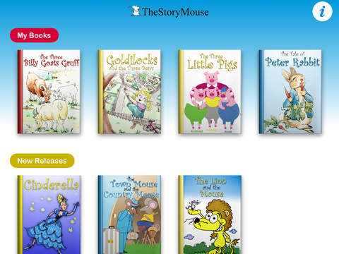 The Story Mouse - Read-along story books for children iPad Screenshot 5