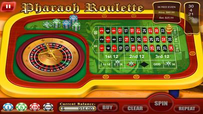 Screenshot 5 Рулетка Королевство фараона — ставки Спин и выигрывайте! Лас-Вегас машина игры Бесплатные