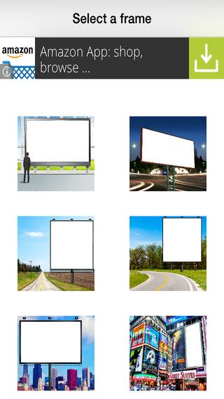 Billboard Photo Frames Deluxe