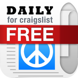 Daily, an app for craigslist for iPhone and iPad - Shopping, Cars, Dating, Jobs + Other Mobile Classifieds (Free Version) - iOS Store App Ranking and App Store Stats