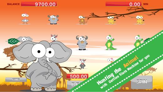 African Animal Wheel - Safari Spin Slot Machine Simulator for Free