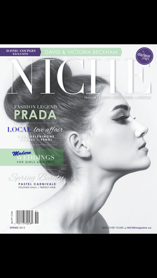 NICHE Fashion Beauty magazine