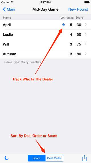 10 Score iPhone Screenshot 1