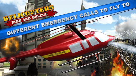 Helicopter Fire Rescue Simulator