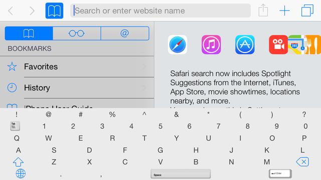 Tab Keyboard