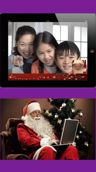 Real VideoMail Santa