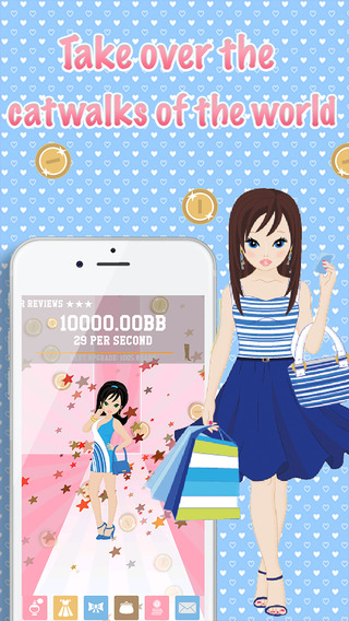 Fashion Clicker - the story about a fashion queen