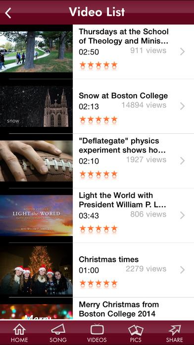 Boston College iPhone Screenshot 4