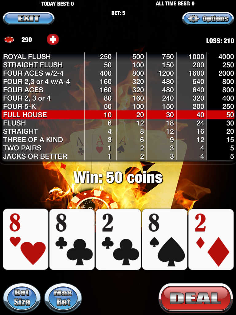 5 card poker app
