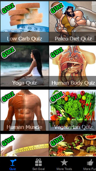 Diet Quiz PRO Learn Secret to Eat and Drink to Bur