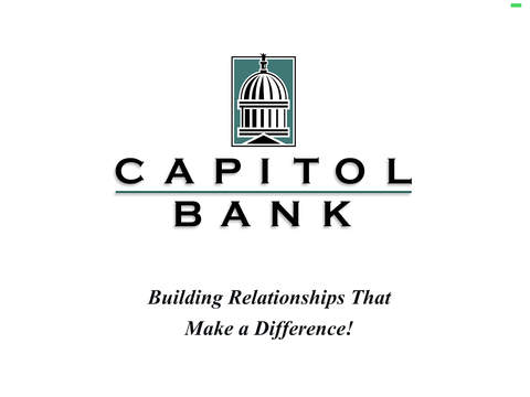Capitol Bank for iPad