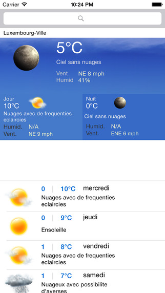 Meteo Luxembourg