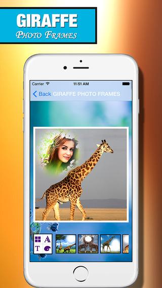 Giraffe Photo Frame