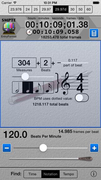 SMPTE Score