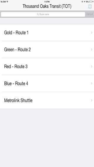 Thousand Oaks Transits