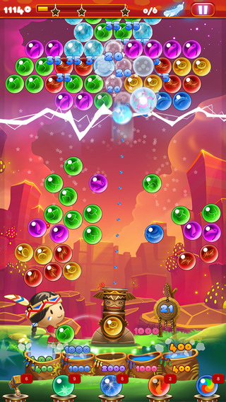 【免費遊戲App】Bubble Dragon Shooter-APP點子