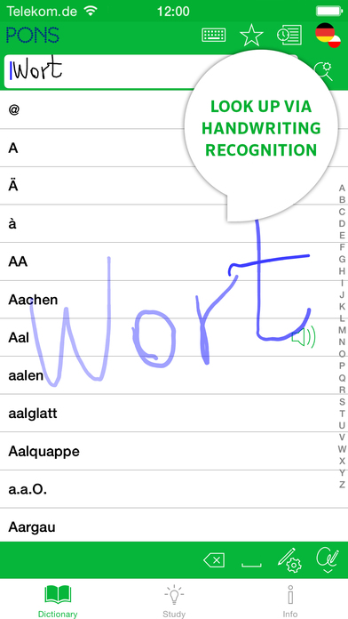 PONS Compact Polish <-> German Dictionary iPhone Screenshot 2