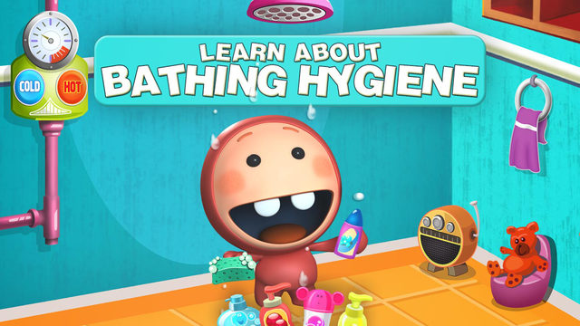 Shower Clean Icky : Fun Hygiene Learning Playtime for Kids Toddlers Babies in Preschool Kindergarten