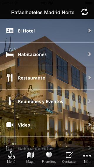 Rafaelhoteles Madrid Norte.