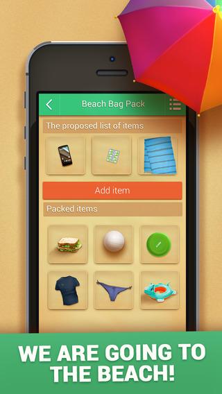 Beach Bag Pack FULL