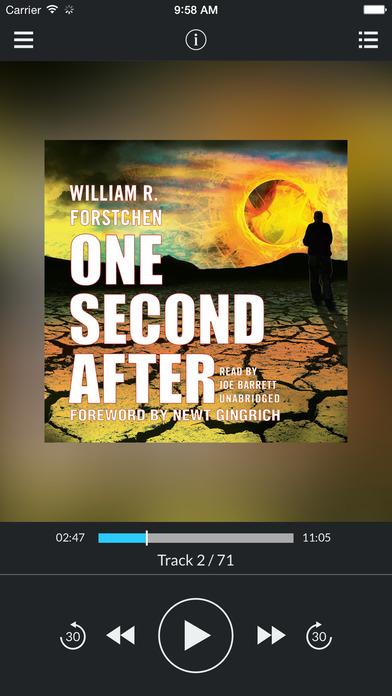 One Second After by William R. Forstchen UNABRIDGED AUDIOBOOK