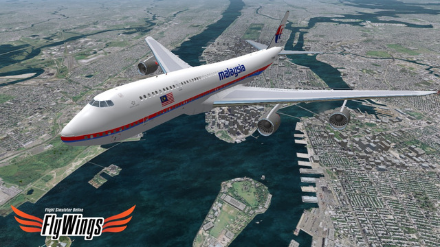 Flight Simulator Online 2014 Free - Fly Wings - Flying in New York City Real World