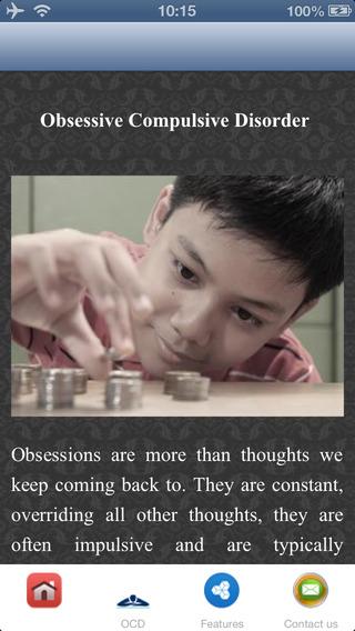 Obsessive Compulsive Disorder - Psychological Treatments