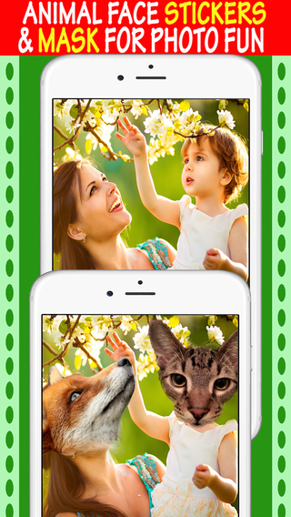 Animal Heads Mask Maker - Photo Booth With Famous Animals Face Stickers Memes