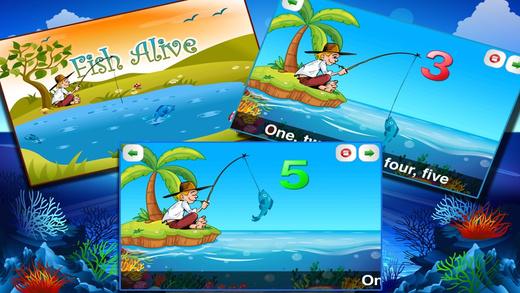 Fish Alive - Nursery Rhyme