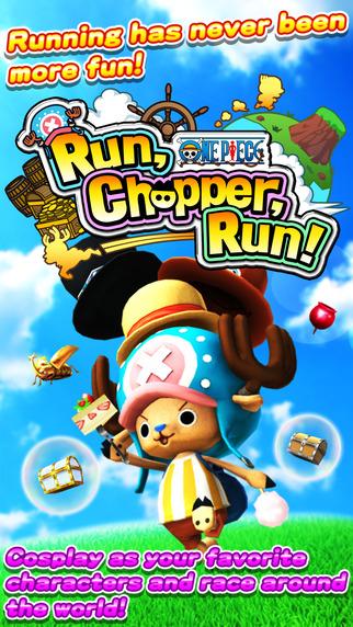 ONE PIECE Run Chopper Run