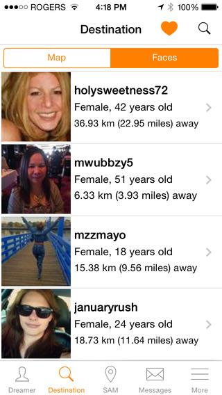 Sam dating app