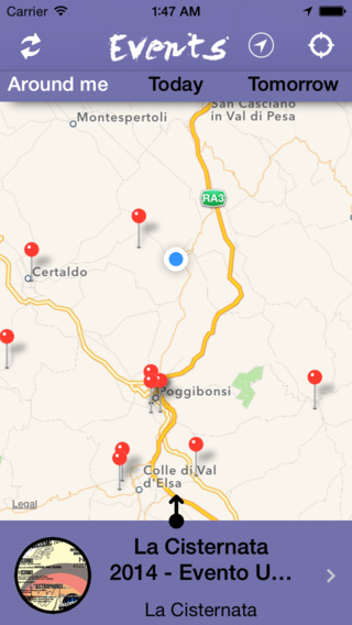 Tuscany Events App