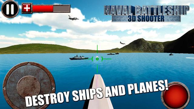 Naval Battleship: 3D Shooter Free