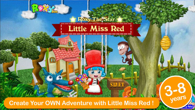 Little Miss Red New Little Red Riding Hood Multiple Endings Interactive Adventure Gamebook for Child