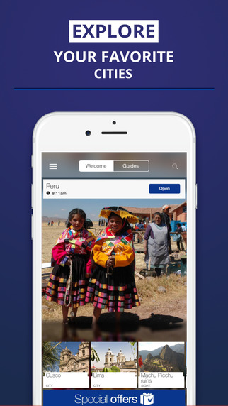 Peru - your travel guide with offline maps from tripwolf guide for sights tours and hotels in Cusco