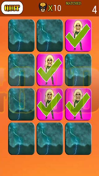 Kids Brain Exercise Game For X-Men Version
