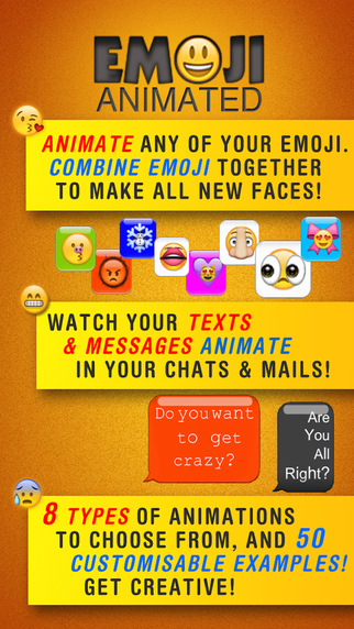 Emoji Animated Pro - Create your own custom GIF messages
