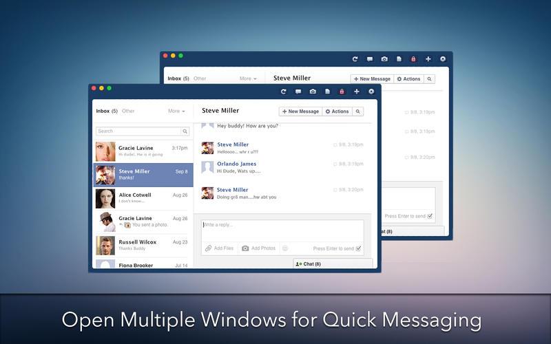 MessagePro for Facebook Screenshot - 3