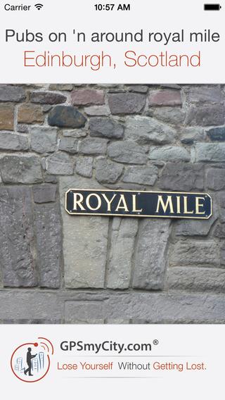 Pubs on 'n around royal mile
